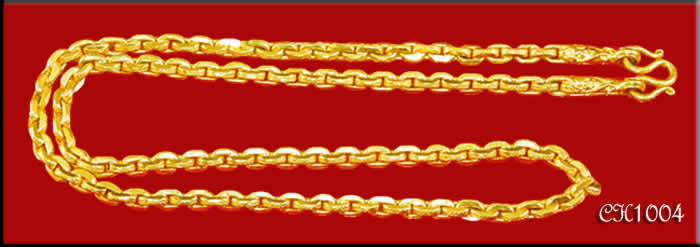 Thai Baht Gold Chains Thai Gold Baht Chains Thai Gold Baht